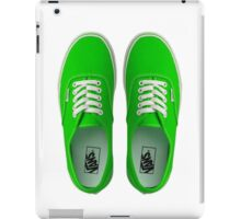 Vans - Green iPad Case/Skin