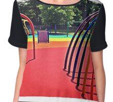 Rainbow Playground 1 Chiffon Top