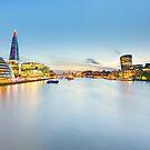 London at Sunset by Svetlana Sewell