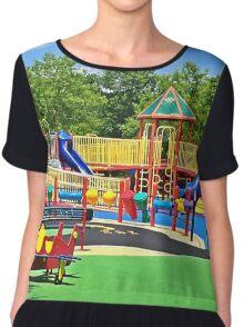 Rainbow Playground 2 Chiffon Top