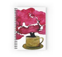 Cherry  Blossom in Mug Spiral Notebook