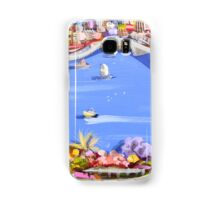 Across the blue Samsung Galaxy Case/Skin