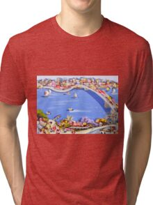 Across the blue Tri-blend T-Shirt