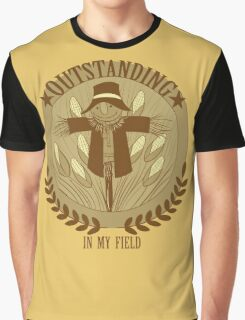 Outstanding in my Field Graphic T-Shirt