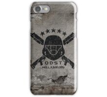 ODST Helljumpers (Black Distressed) iPhone Case/Skin