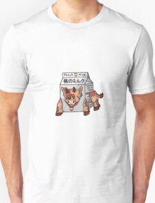 Peach Milk Mini Moo! Unisex T-Shirt