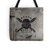 ODST Helljumpers (Black Scratched) Tote Bag