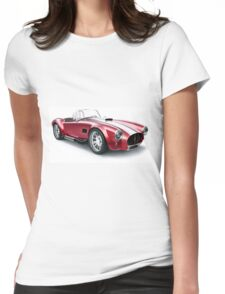 Cobra vintage sport car Womens Fitted T-Shirt