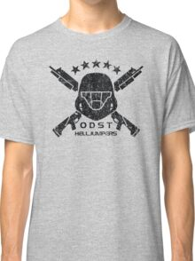 ODST Helljumpers (Black Distressed) Classic T-Shirt