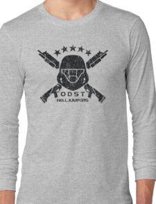 ODST Helljumpers (Black Distressed) Long Sleeve T-Shirt