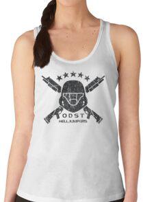 ODST Helljumpers (Black Distressed) Women's Tank Top