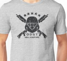 ODST Helljumpers (Black Distressed) Unisex T-Shirt