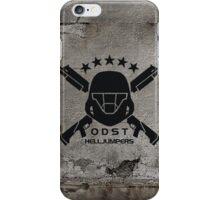 ODST Helljumpers (Black) iPhone Case/Skin