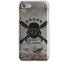 ODST Helljumpers (Black) iPhone Case/Skin