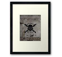 ODST Helljumpers (Black) Framed Print