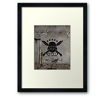 ODST Helljumpers (Black) Framed Print
