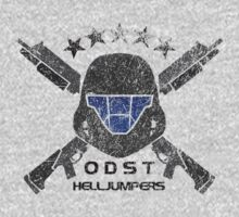 ODST Helljumpers (Color Scratched) T-Shirt