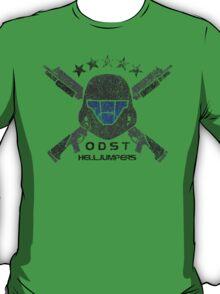 ODST Helljumpers (Color Scratched) T-Shirt