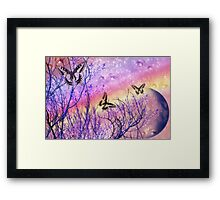 The Eyes Of Spring - Image and Poem Framed Print