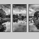 Triptych Trim Castle 2 by Martina Fagan