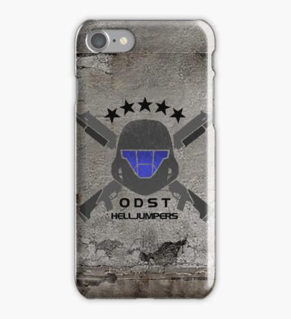 ODST Helljumpers (Color) iPhone Case/Skin
