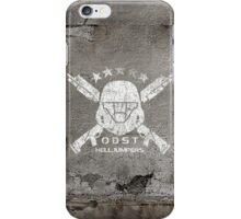 ODST Helljumpers (White Scratched) iPhone Case/Skin