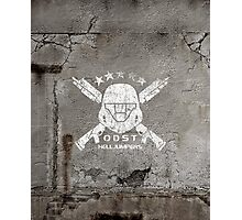 ODST Helljumpers (White Scratched) Photographic Print