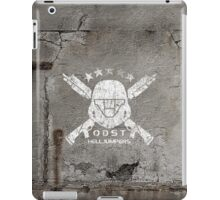 ODST Helljumpers (White Scratched) iPad Case/Skin