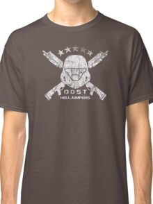 ODST Helljumpers (White Distressed) Classic T-Shirt