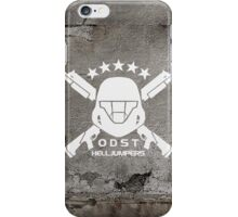 ODST Helljumpers (White) iPhone Case/Skin