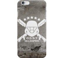 ODST Helljumpers (White) iPhone Case/Skin