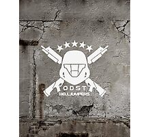 ODST Helljumpers (White) Photographic Print
