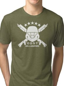 ODST Helljumpers (White) Tri-blend T-Shirt