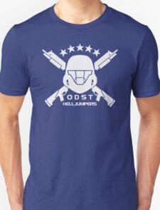ODST Helljumpers (White) Unisex T-Shirt