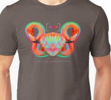 Infinite Possibilities - (Neon Infinity Flamingo) Unisex T-Shirt