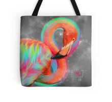 Infinite Possibilities - (Neon Infinity Flamingo) Tote Bag