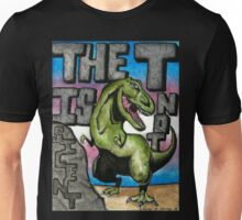 The T is Not Silent - Trans Pride Art Unisex T-Shirt