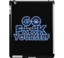 Pokemon GO F**K YOURSELF iPad Case/Skin