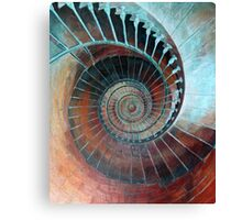 Feel Your Presence and Its Inherent Vibration Canvas Print