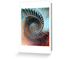 Feel Your Presence and Its Inherent Vibration Greeting Card