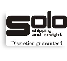 Solo Shipping and Freight Canvas Print