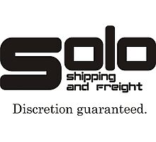 Solo Shipping and Freight Photographic Print