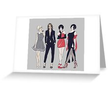 Resident Ladies Greeting Card