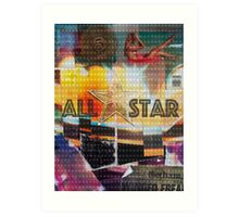 ALL STAR Art Print