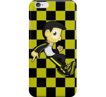 Juvi: Checkerboard (Black and Yellow) iPhone Case/Skin