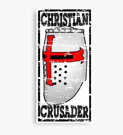 CHRISTIAN CRUSADER Canvas Print