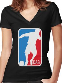 DAB, the association Women's Fitted V-Neck T-Shirt