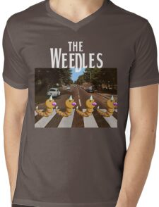 The Weedles on Abbey Road Mens V-Neck T-Shirt