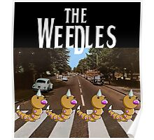 The Weedles on Abbey Road Poster