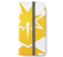 Pokémon GO - Team Instinct (White) iPhone Wallet/Case/Skin
